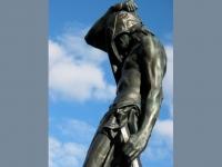 2c. blind statue